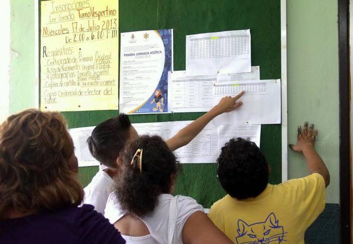 El calendario escolar de Yucatán marca que el próximo viernes el nivel básico no tendrá clases. (Archivo/ Milenio Novedades)