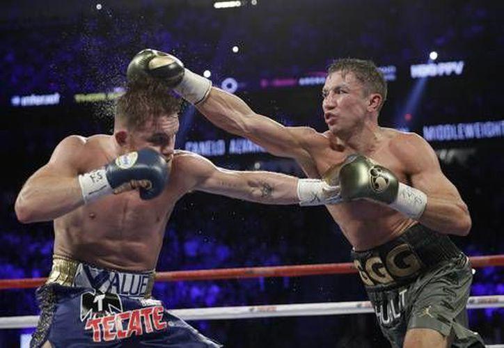 La pelea entre Golovkin y el Canelo está programada para el 15 de septiembre (La Jornada)