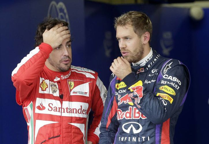 Será Vettel quien ocupe el asiento en Ferrari que deja Fernando Alonso. (Foto: Archivo/AP)