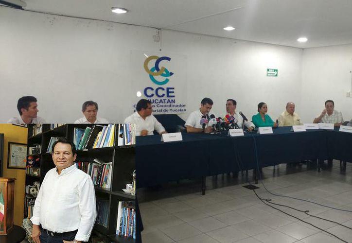 El CCE buscará un acercamiento con Joaquín Díaz Mena, quien será coordinador del Gobierno Federal en Yucatán. (Archivo)