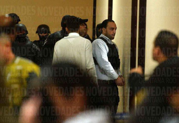El ex mandatario quintanarroense espera el resultado de su proceso de extradición. (Redacción)