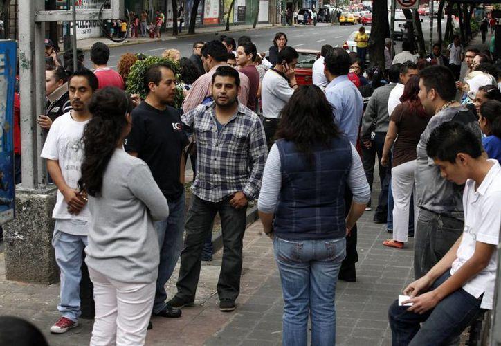 Apenas el pasado 8 de mayo se registró un fuerte temblor de 6.4 grados en la escala de Richter, evento al que corresponde esta imagen de la ciudad de México. (Archivo(Notimex)