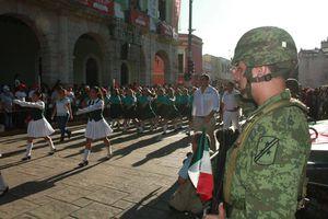 Más imágenes del desfile del 16 de Septiembre en Mérida