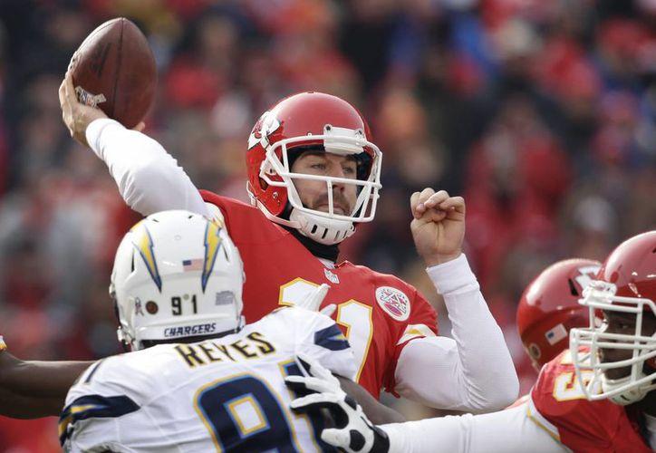 A pesar del tropezón de los Chiefs, Alex Smith tendrá una destacada participación ante los Colts.