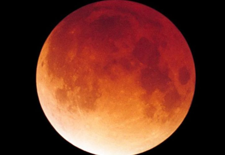 La luna de sangre será la última que se verá en el año. (Contexto/Internet)