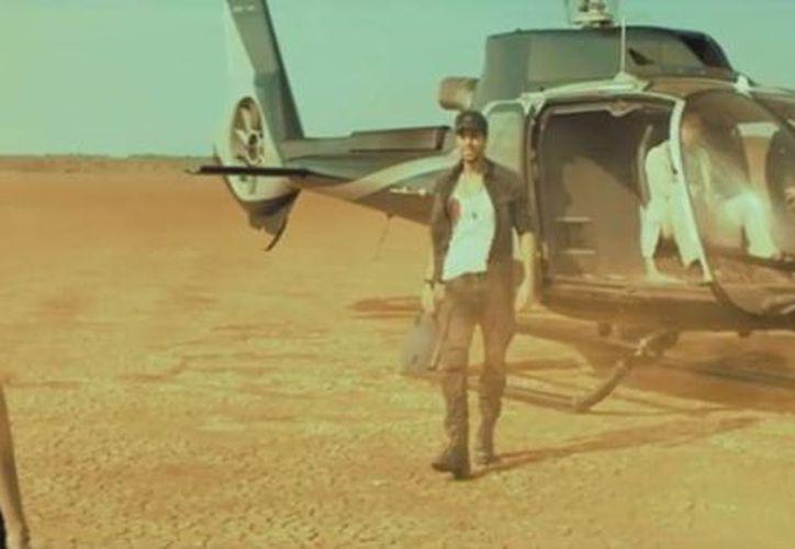 Enrique Iglesias filmó el video de 'Duele Corazón' con Wisin en el Parque Nacional Sarigua y en la Costa del Este de Panamá. (Captura de pantalla)