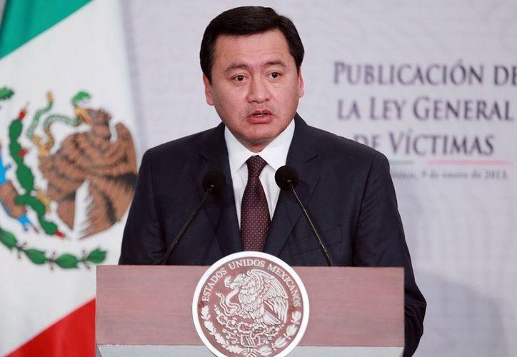 Miguel Ángel Osorio Chong, precisó que se ha reunido con autoridades de naciones como EU, Colombia, Francia, Inglaterra, España y Centroamérica, entre otros. (Archivo/Notimex)