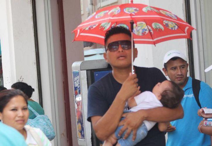 En las próximas 48 horas, Yucatán vivirá condiciones de calurosas a muy calurosas durante la mayor parte del día, pese a las lluvias, de acuerdo a la Conagua. (SIPSE)