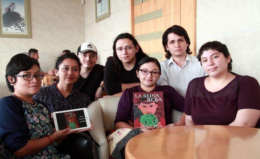 El libro digital fue presentado en días recientes en la Filey 2016.(Jorge Acosta/Milenio Novedades)