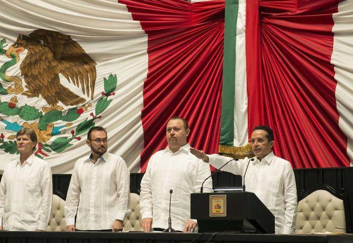Señaló que asume el cargo con gran responsabilidad. (Luis Soto/ SIPSE)