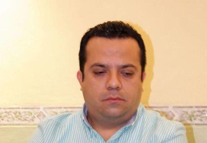 """""""Nosotros únicamente impugnamos el tema de precampañas por un monto de 60 mil pesos"""", señaló David Barrera Zavala, presidente estatal del PRD.  (Milenio Novedades)"""