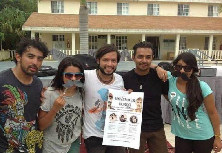 Estudiantes de la Uqroo realizarán en noviembre diferentes actividades en torno al <i>Movember</i>. (Cortesía/SIPSE)