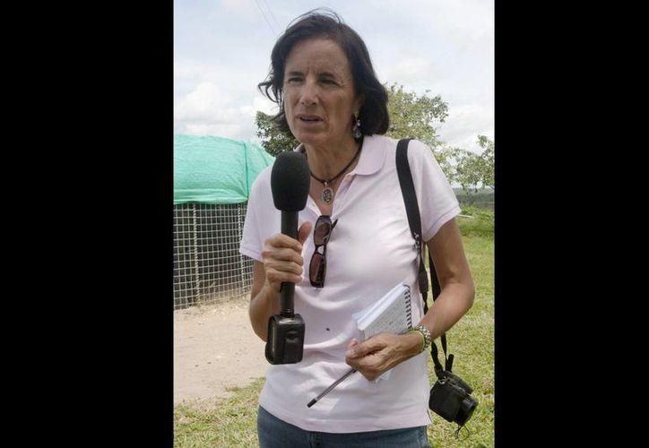 Salud Hernández ex corresponsal del diario español El Mundo y columnista de un rotativo colombiano. (AP/Archivo)