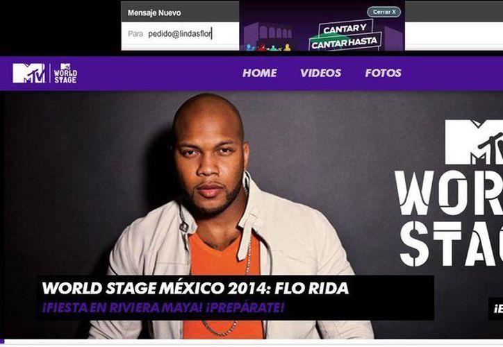 Millones de hogares podrán disfrutar del rapero Flo Rida el 31 de julio, que estará en el Hotel Hard Rock Riviera Maya. (Sergio Orozco/SIPSE)