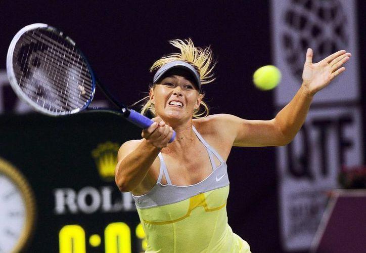 La tenista rusa Maria Sharapova estará en Latinoamerica. (EFE)