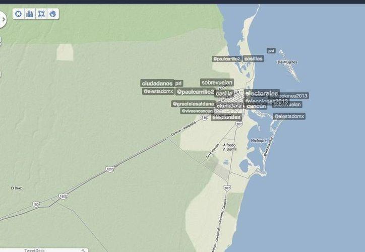 Trendsmap, es la plataforma que te permite conocer los Trending Topics de Twitter en todo el mundo. (SIPSE)