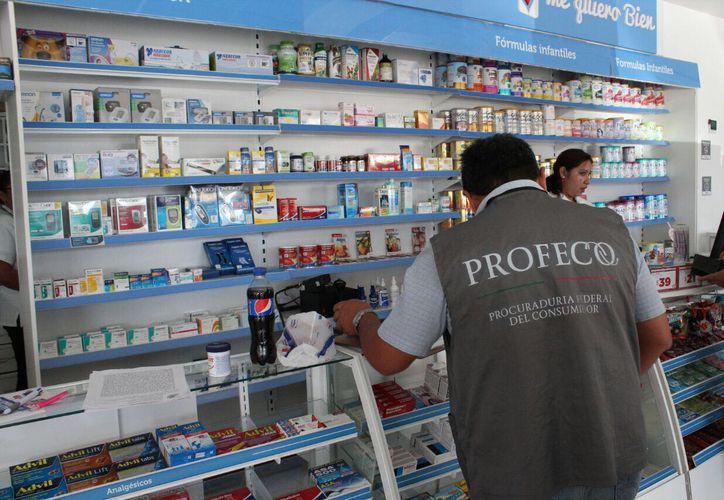El personal de la Profeco realiza visitas a las diferentes empresas del municipio. (Octavio Martínez/SIPSE)