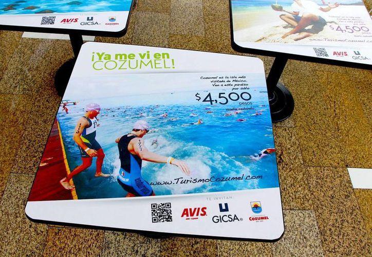 Con la estrategia de promoción buscan incrementar el flujo de pasajeros a la isla. (Cortesía/SIPSE)