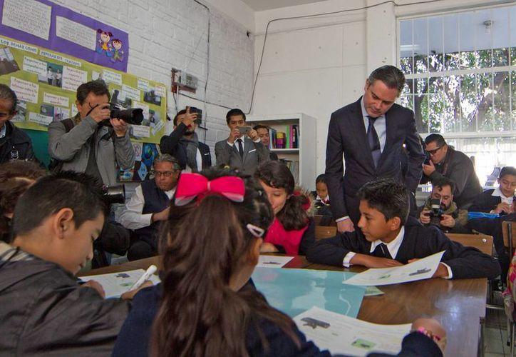 Según la Secretraría de Educación Pública, en el país existen alrededor de 24 mil 250 escuelas que funcionan bajo la modalidad de tiempo completo y que tienen un presupuesto mayor a los seis mil millones de pesos por parte del gobierno federal. (Foto de contexto/ Notimex)