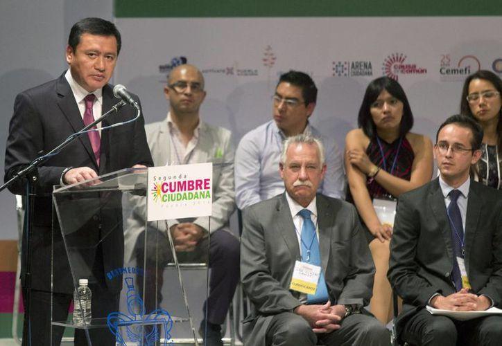 Osorio Chong destacó que la reforma educativa es el cambio que necesita la niñez mexicana. (Notimex)