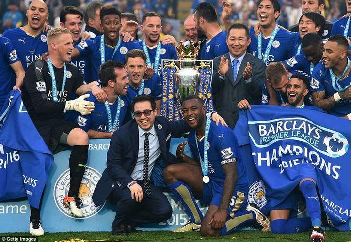 El campeonato del Leicester City en la Liga Premier de Inglaterra fue una de las grandes sorpresas durante el año 2016.(Archivo/AP)