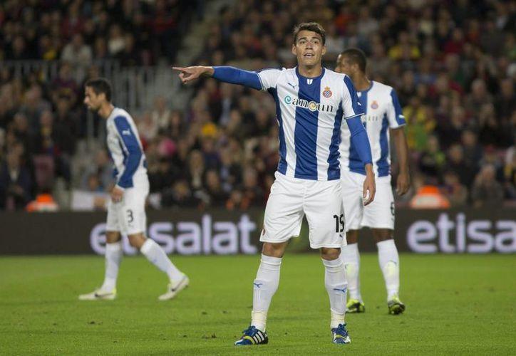 El defensa mexicano Héctor Moreno disputó todo el encuentro contra el Osasuna con una participación aceptable. (Archivo Notimex)