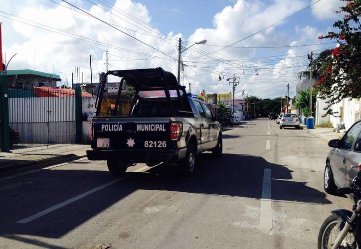 Los operativos de prevención de vigilancia se redistribuirán en toda la ciudad. (Adrián Barreto/SIPSE)