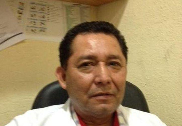 """Andrés Ruiz Vázquez, coordinador del nosocomio """"Jesús Kumate Rodríguez"""". (Redacción/SIPSE)"""