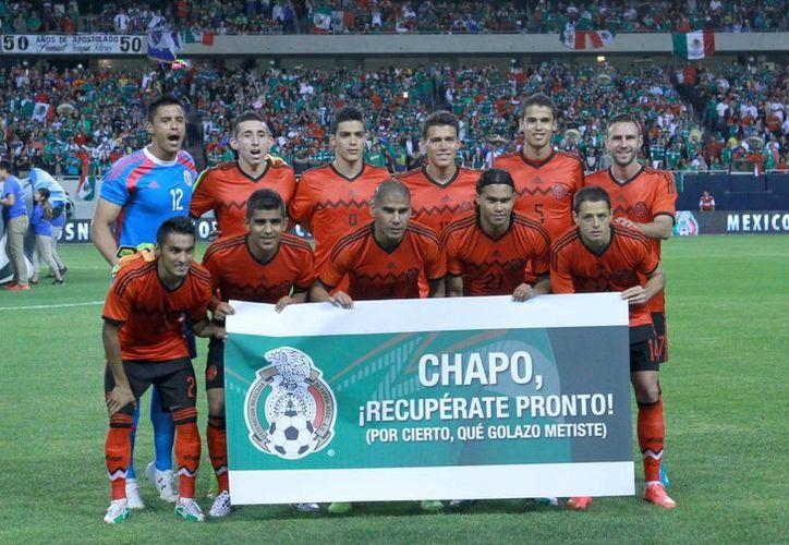 México, en el sitio 20 según la FIFA, jugará este viernes contra Portugal, que es cuarto lugar en la lista mensual del organismo. (Notimex/Foto de archivo)