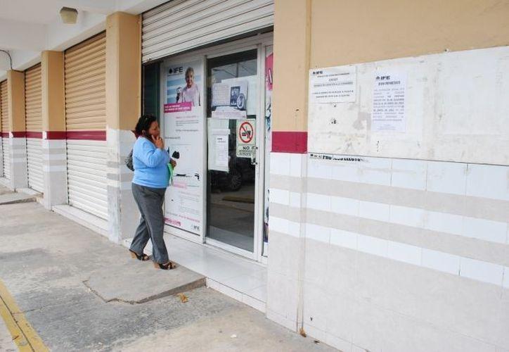 El Instituto Federal Electoral informó que el cuarto distrito estará ubicado en el norte de la entidad. (Redacción/SIPSE)