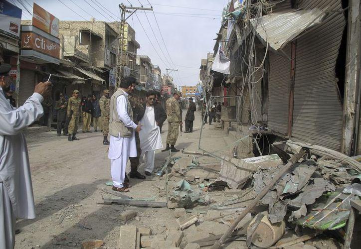 La explosión se registró cuando faltan pocos días para el festejo anual de los chiitas. (Agencias)