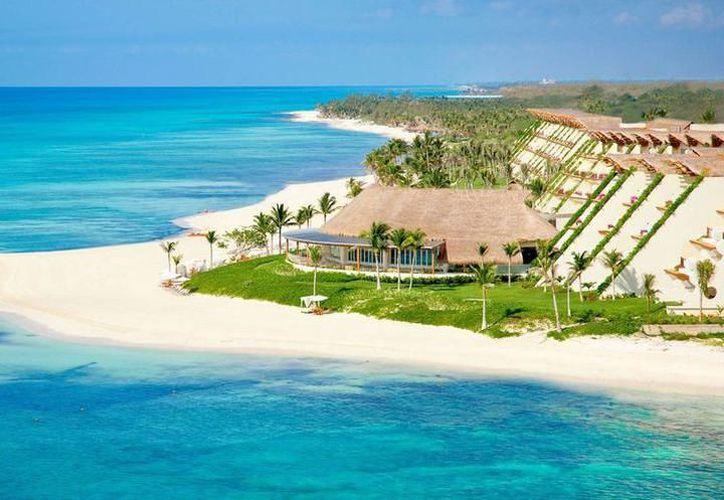 Mexicanos eligen la Riviera Maya para irse de vacaciones, por sus playas de arena de coral fina y blanca. (Foto: Contexto)