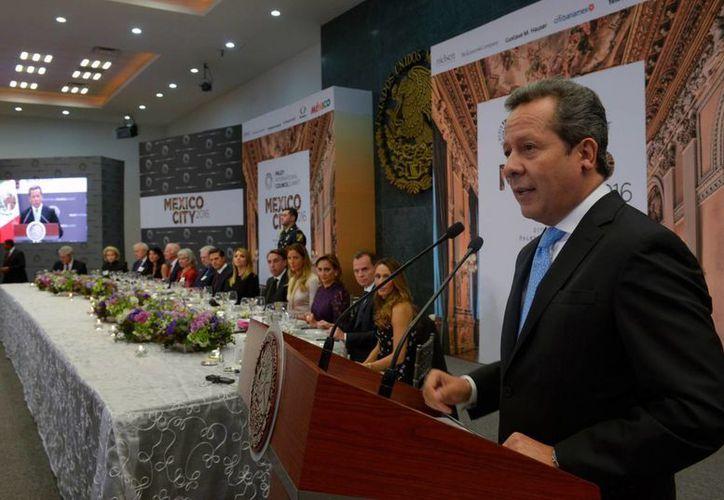 El vocero de la Presidencia, Eduardo Sánchez Hernández, en imagen de archivo. (Notimex)