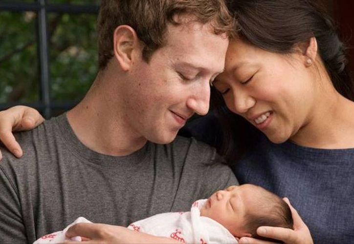 Junto con el nacimiento de su hija, la familia Zuckerberg anunció la donación del 99 por ciento de las acciones de Facebook que poseen. (Facebook/Mark Zuckerberg)
