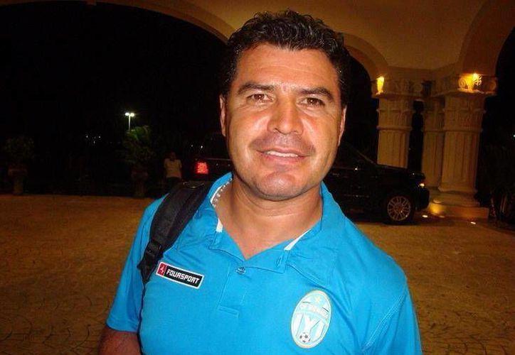 Juan Carlos Chávez, nuevo técnico de los Venados del CF Mérida. (Milenio Novedades)