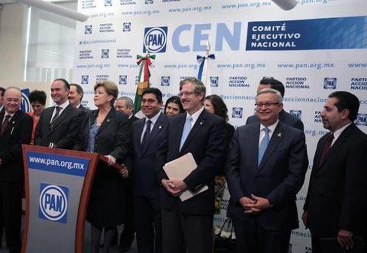 La propuesta de los panistas en materia electoral incluye mayor fiscalización de recursos. (PAN)