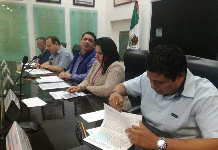 Los integrantes del Congreso dieron luz verde a las facultades jurisdiccionales del Tribunal de Justicia Administrativa. (Joel Zamora/SIPSE)