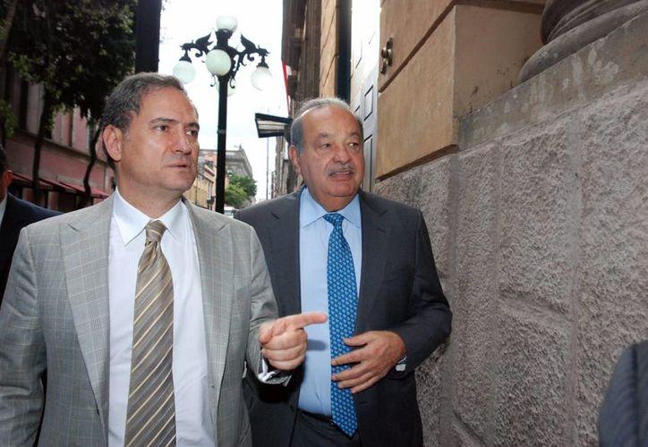 El magnate mexicano Carlos Slim aseguró que los resultados de la nueva estrategia de seguridad llevarán tiempo. (Notimex)