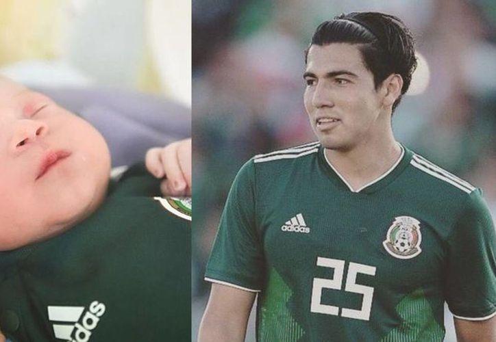 Erick Gutiérrez, nuevo padre de familia y mediocampista del Pachuca, jugará en Rusia el primer Mundial de su carrera (Foto: Twitter)