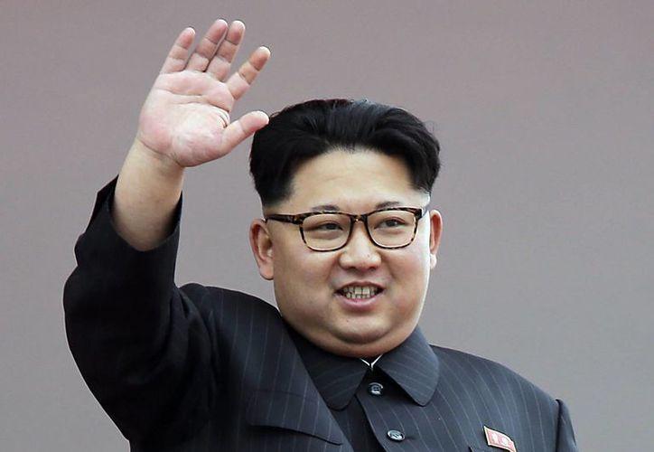 Kim Jong Un anunció el 1 de enero que su país estaba cerca de probar el lanzamiento de un misil balístico intercontinental. (AP Photo/Wong Maye-E, File)