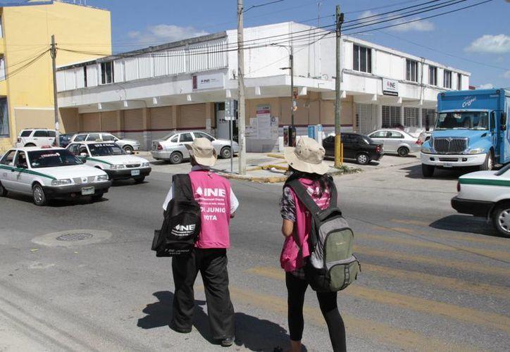 El Instituto Nacional Electoral es el encargado de organizar las elecciones. (Tomás Alvarez/SIPSE)