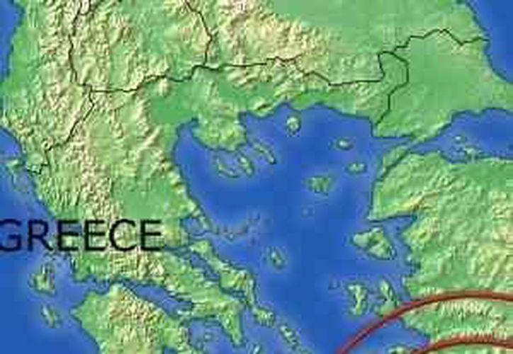 El sismo se sintió levemente en las capitales griega y turca. (Internet)