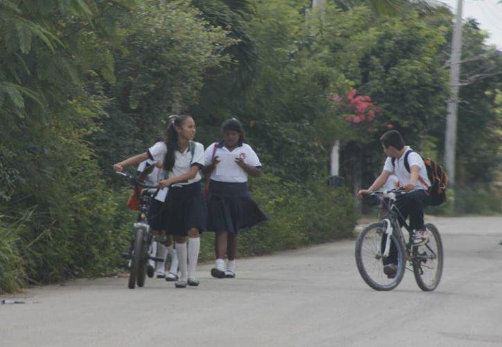 La matrícula actual en el nivel medio superior es de 59 mil 141 jóvenes, concentrados en el Colegio de Bachilleres (Harold Alcocer/ SIPSE)