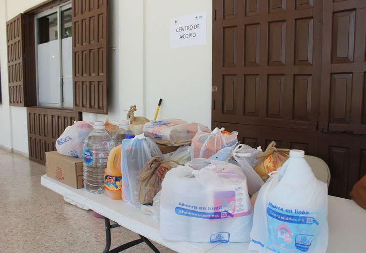 Algunas familias perdieron todas sus pertenencias, porque el nivel del agua alcanzó casi los tres metros. (Joel Zamora/SIPSE)