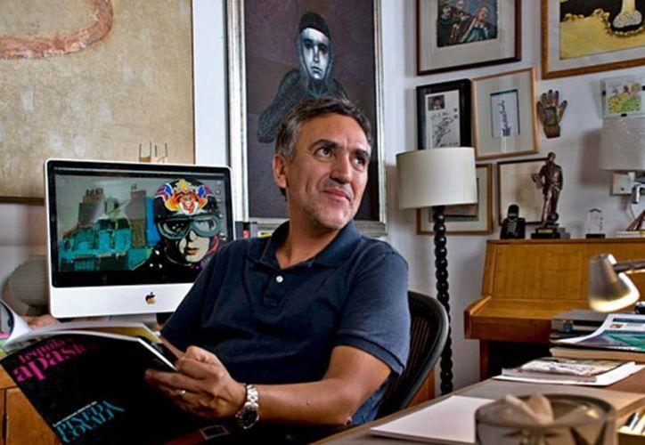 El caricaturista José Trinidad Camacho, mejor conocido como Trino, logró escapar de sus secuestradores. (Excelsior)