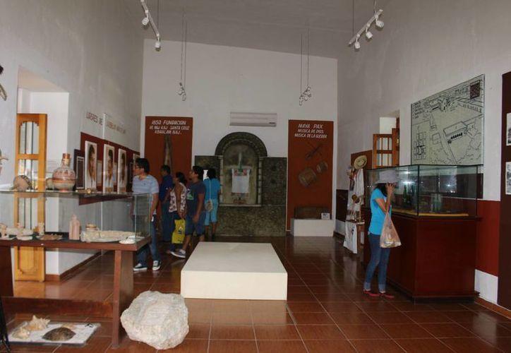 El Museo Maya de Felipe Carrillo Puerto abre todos los días de la semana. (Benjamín Pat/SIPSE)