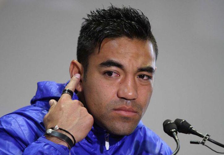 """Marco Fabián quiere volver a la selección nacional y dijo que mientras esté en buen momento """"cualquiera tiene la oportunidad"""". (Archivo Notimex)"""