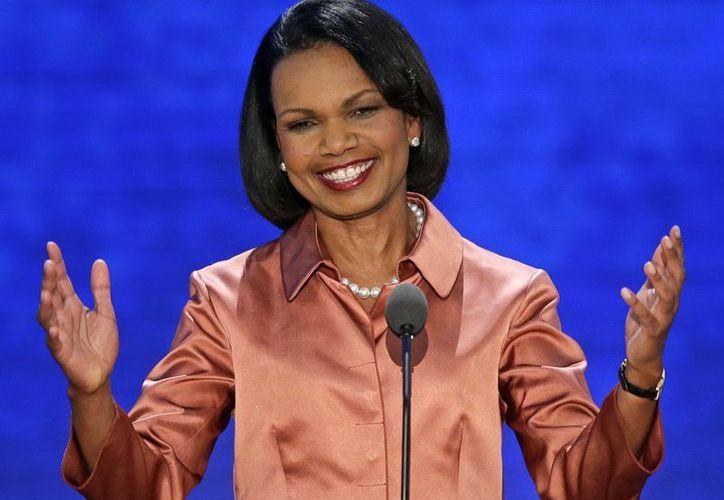 Mediante una videoconferencia, la exsecretaria de Estado de EU, Condoleezza Rice, participará en la cumbre. (Agencias)