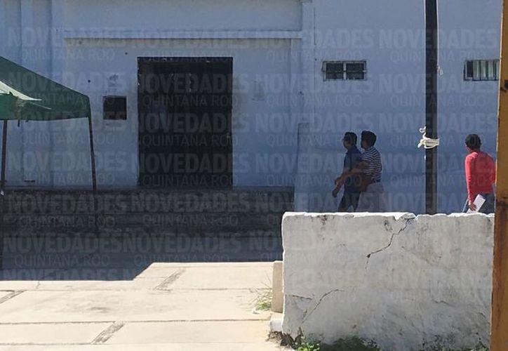 Lo trajeron agentes ministeriales desde Tijuana donde fue asegurado. (Claudia Martín/ SIPSE)