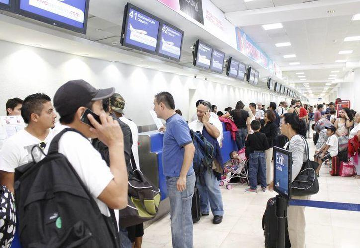 A partir de junio, el Aeropuerto Internacional de Cancún recibirá tres vuelos procedentes de la terminal área de Barajas. (Jesús Tijerina/SIPSE)
